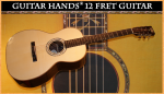 Guitar Hands 12-Fret Acoustical Guitar